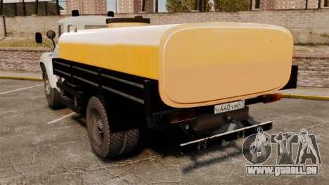 ZIL-130 à-829 pour GTA 4 Vue arrière de la gauche