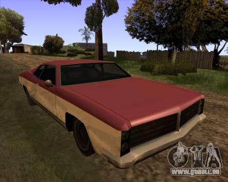 Buccaneer pour GTA San Andreas