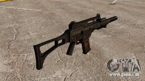 HK G36C Angriff Gewehr v2 für GTA 4 Sekunden Bildschirm