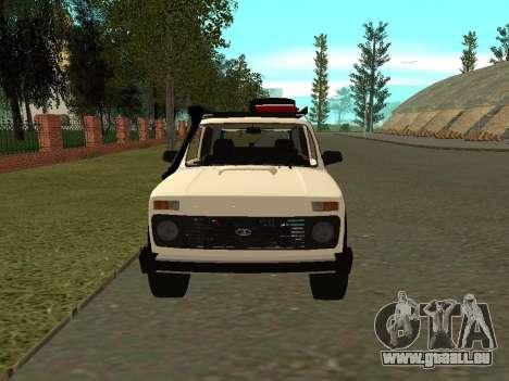 VAZ 21213 Niva pour GTA San Andreas vue de droite