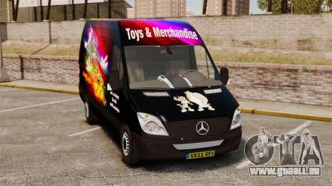 Mercedes-Benz Sprinter Tom and Jerry für GTA 4