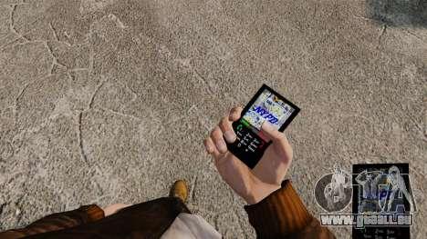 Themen für Telefondienste New York für GTA 4 dritte Screenshot