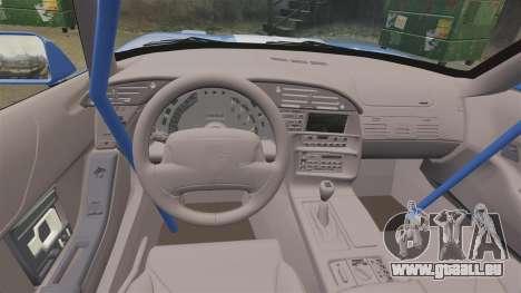 Chevrolet Corvette C4 1996 v2 pour GTA 4 est une vue de l'intérieur