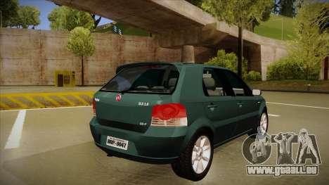 FIAT Palio ELX 2010 für GTA San Andreas rechten Ansicht