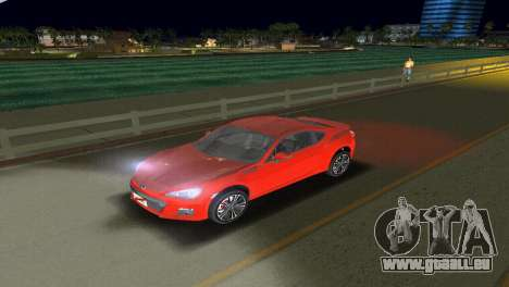 Subaru BRZ Type 1 für GTA Vice City Seitenansicht