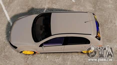 Volkswagen Gol G6 2013 Turbo Socado für GTA 4 rechte Ansicht