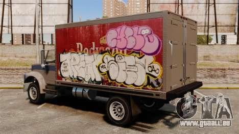 Neue Graffiti zu Yankee für GTA 4 linke Ansicht