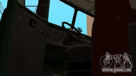 Camion auto-école v. 2.0 pour GTA San Andreas vue de dessous