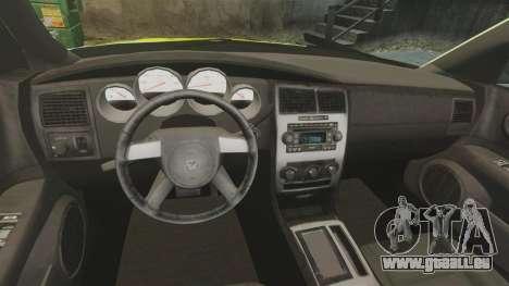 Dodge Magnum West Coast Customs pour GTA 4 Vue arrière