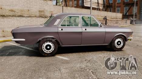 Volga gaz-2410 v2 pour GTA 4 est une gauche