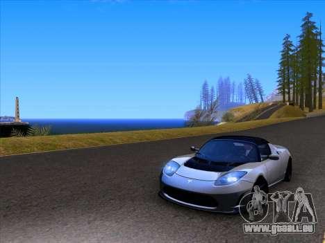 Tesla Roadster Sport 2011 pour GTA San Andreas vue de côté