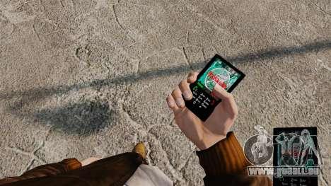 Thèmes pour téléphone Vampire The Masquerade pour GTA 4 huitième écran