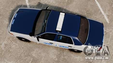 Ford Crown Victoria Virginia State Police [ELS] für GTA 4 rechte Ansicht