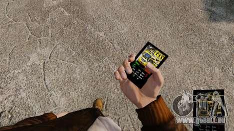 Themen für Telefondienste New York für GTA 4 Sekunden Bildschirm