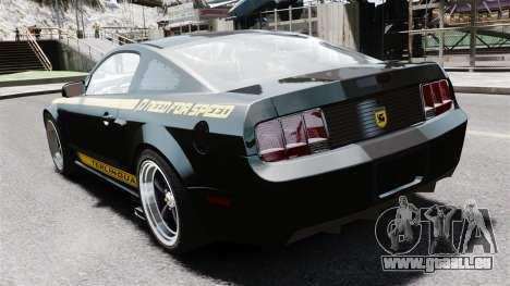 Shelby Terlingua Mustang pour GTA 4 Vue arrière de la gauche
