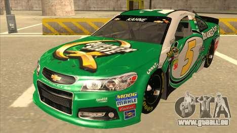 Chevrolet SS NASCAR No. 5 Quaker State pour GTA San Andreas