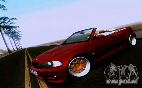 BMW M3 Cabrio pour GTA San Andreas