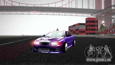 Toyota Chaser Tourer V für GTA San Andreas Seitenansicht