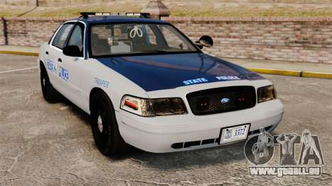 Ford Crown Victoria Virginia State Police [ELS] pour GTA 4