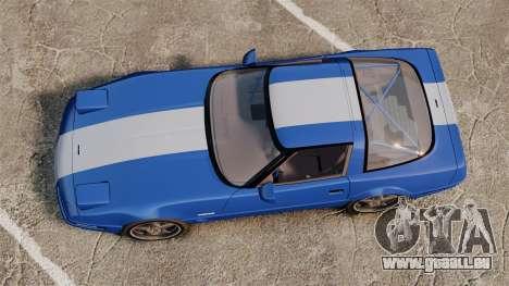 Chevrolet Corvette C4 1996 v2 pour GTA 4 est un droit