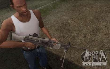 Pistolet militaire pour GTA San Andreas deuxième écran