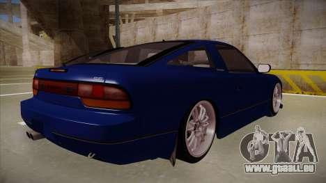 Nissan 240sx JDM style für GTA San Andreas rechten Ansicht