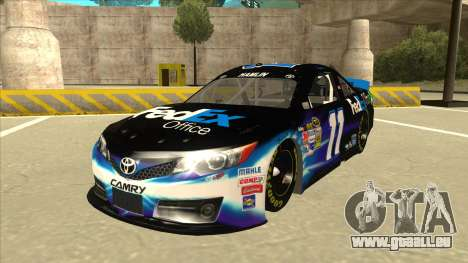 Toyota Camry NASCAR No. 11 FedEx Office für GTA San Andreas
