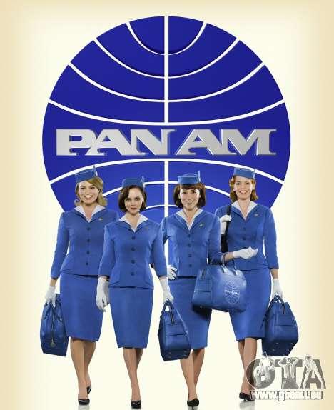 Die Fluggesellschaft PanAm für GTA 4