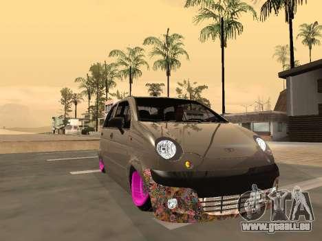 Daewoo Matiz Mexi Flush pour GTA San Andreas