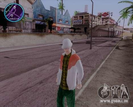 Maccer HD pour GTA San Andreas deuxième écran