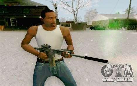 Die M4a1 für GTA San Andreas her Screenshot