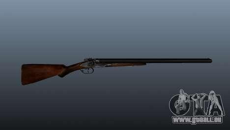 Fusil à double canon pour GTA 4 troisième écran