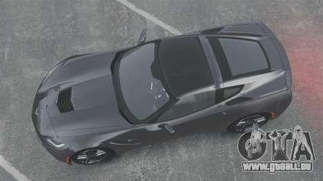 Chevrolet Corvette C7 Stingray 2014 pour GTA 4 est un droit