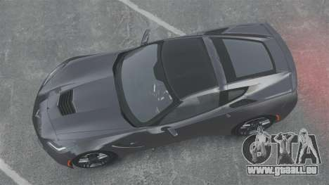 Chevrolet Corvette C7 Stingray 2014 für GTA 4 rechte Ansicht
