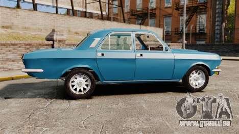 Volga gaz-2410 v3 pour GTA 4 est une gauche