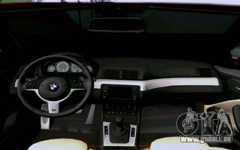 BMW M3 Cabrio pour GTA San Andreas vue de côté