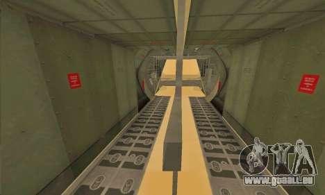 Hercules GTA V pour GTA San Andreas laissé vue