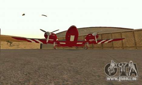 Rustler GTA V pour GTA San Andreas vue intérieure