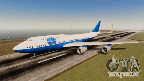 La compagnie aérienne Pan Am pour GTA 4 sixième écran
