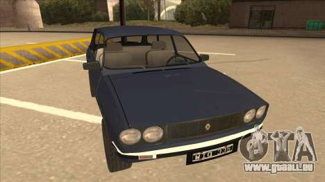 Renault 12 Break für GTA San Andreas linke Ansicht