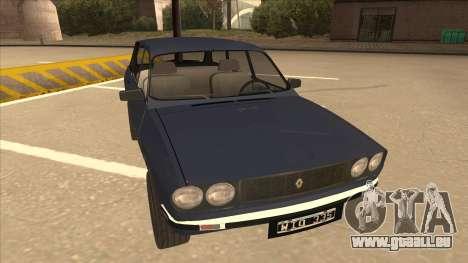 Renault 12 Break für GTA San Andreas linke Ansicht