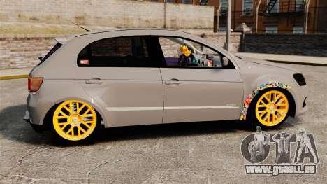 Volkswagen Gol G6 2013 Turbo Socado für GTA 4 linke Ansicht