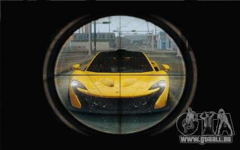 M1 Garand pour GTA San Andreas troisième écran