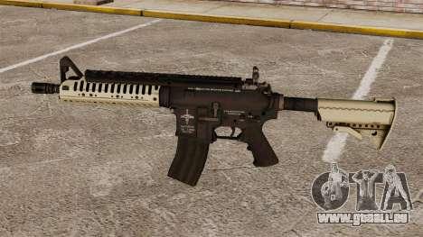 Automatique carabine M4 VLTOR v3 pour GTA 4 troisième écran