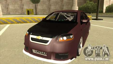 Chevrolet Aveo LT Tuning für GTA San Andreas