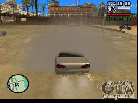 GTA V to SA: Burnout RRMS Edition für GTA San Andreas dritten Screenshot