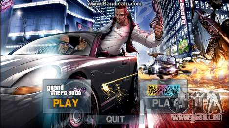 New IntroMusic LoadingScreen Menu Mega Pack v1.0 pour GTA 4
