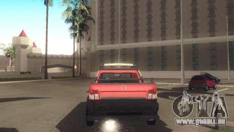 Fiat Strada Locker 2013 pour GTA San Andreas vue de droite