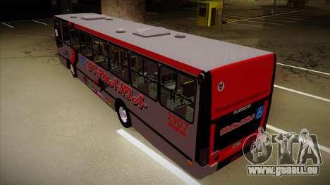 Busscar Urbanuss Ecoss MB OF 1722 M Busmania pour GTA San Andreas vue arrière