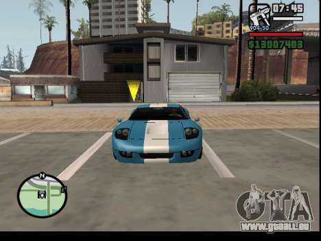 Entführung von Autos für GTA San Andreas her Screenshot